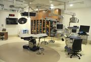 One of the center's three operating rooms.