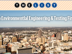 Behind The List: Environmental Engineering & Testing Firms