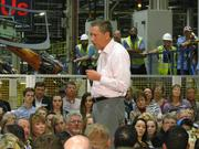 Ohio Gov. John Kasich focused on job growth in Ohio during his Moraine stop, this ahead of the Ohio primary.