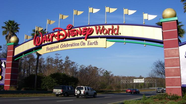 Picture of walt disney world entrance