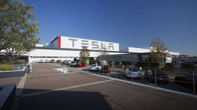 Tesla Factory In Fremont California