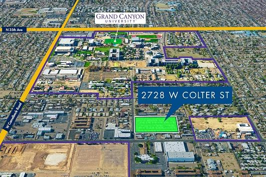 map of grand canyon university Grand Canyon University Buys Parcel In Quest To Double Size Of map of grand canyon university