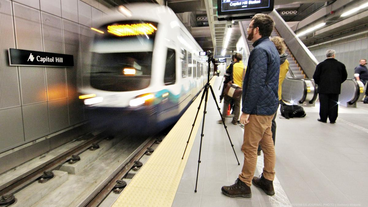 8 minutes versus 50 minutes: Seattle's new U Link subway system opens  Saturday (slideshow) - Puget Sound Business Journal