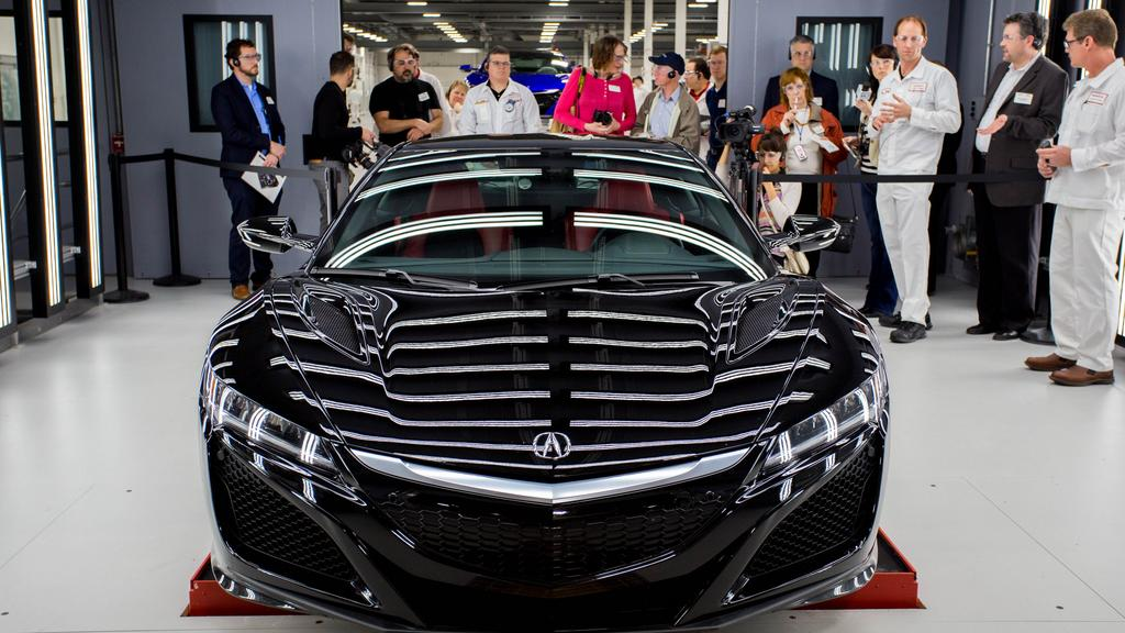 Acura Nsx Most Expensive Car In U S Built In Ohio Video