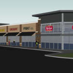 New intersection paves way for fresh tenant lineup at <strong>Baumgardner</strong>'s 8-acre retail development