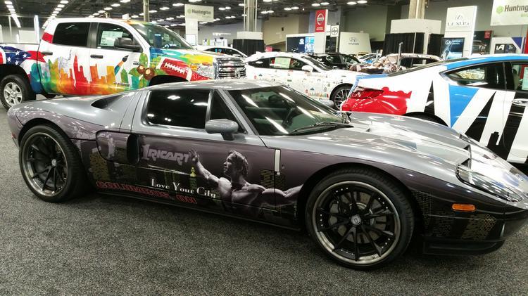 Braxton Miller Acura NSX Topline Columbus International Auto - Auto car show convention center
