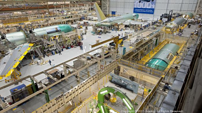 Boeing weighs urgent plans to double 767 production in Everett for a big buyer
