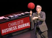 As in years past, winners will show off their hidden talents at the awards event. Here, 2016 honoree Michael DiFabion spins a basketball on his finger for his talent.