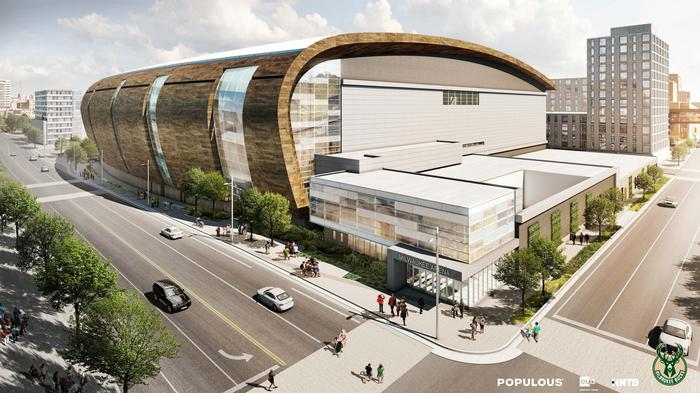 Which acts booked for the new Milwaukee Bucks arena will you be seeing?