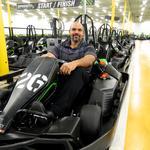 Former Philadelphia Eagle lineman shifts career to go-karts