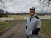 Golf legend Tiger Woods visited Thompson's Station in March 2016 to tour the site of a proposed 900-home development, which could be anchored by Woods-designed golf courses.