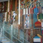 Mural brings transit-oriented development to life near Oakland's MacArthur BART station