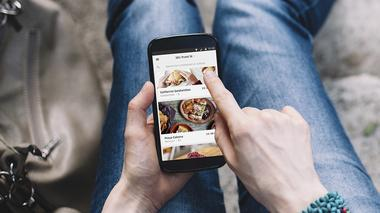 Would you order food using Uber?