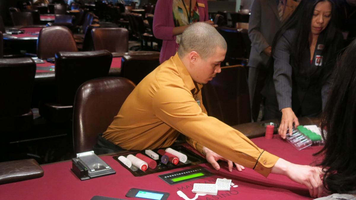 Maryland live poker room tables