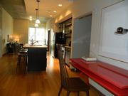 Inside one of the furnished units at the new Granary building on N. 20th St. in Philadelphia.