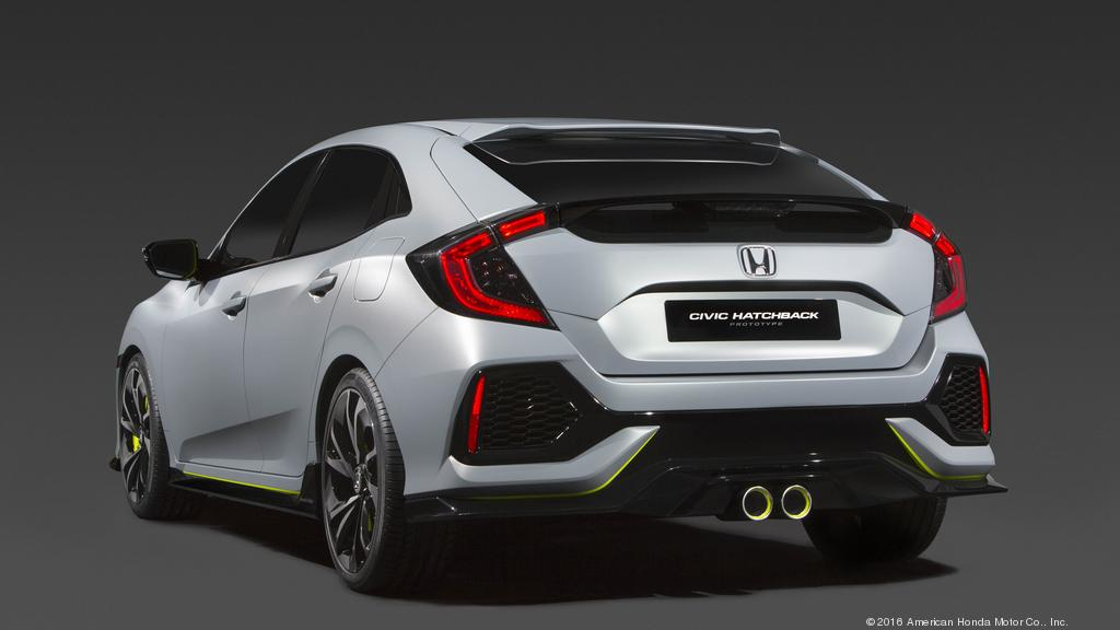 New Honda Civic Hatchback Coming To Showrooms Later This Year
