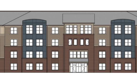Affordable-housing community for seniors on Park Road in Charlotte