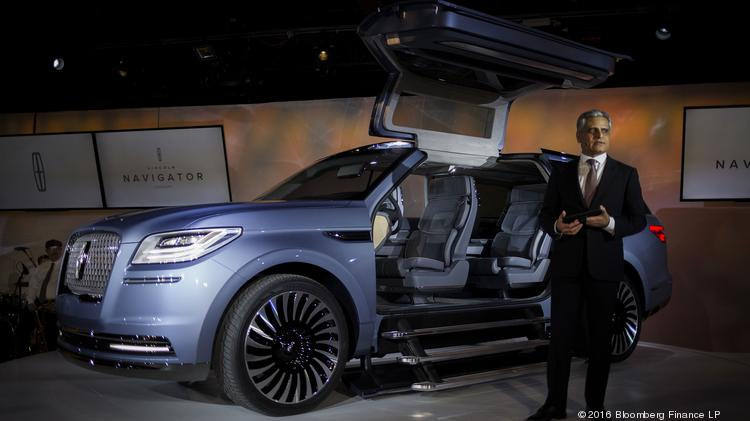 Ar Galhotra President Of Lincoln And Vice At Ford Motor Co Unveils