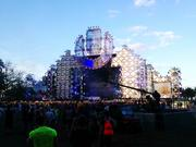The main stage at Ultra Music Festival in downtown Miami.