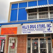 Customers on the West Side have turned to Hill's Drug Store since 1945.