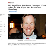 DeBlasio should start doing opposition research on this N.Y.C. real estate developer