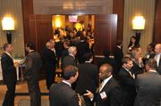 Networking at the CFO awards event
