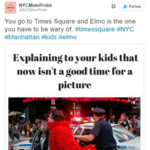 'Creepy' costumed brigade gets slammed in Times Square