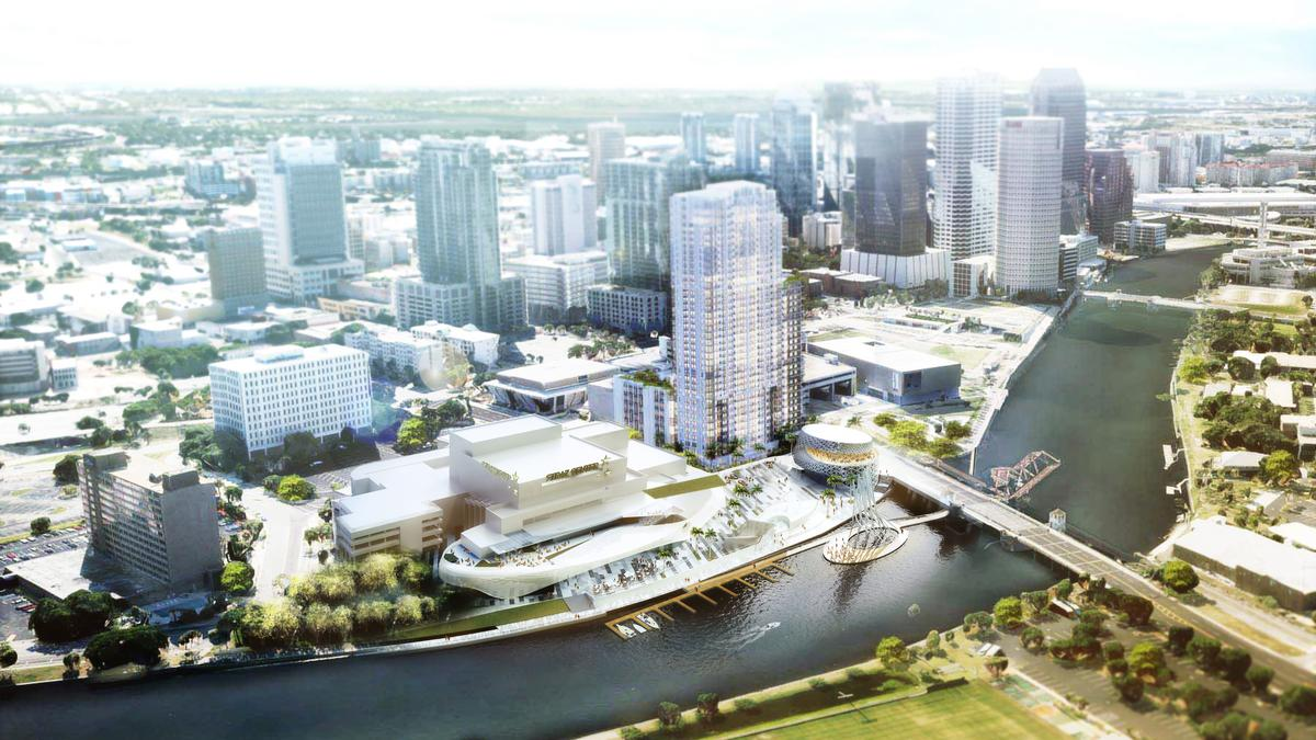 Long Awaited 33 Story Aer Apartment Tower Near Straz Center In Downtown Tampa Is Moving Forward For Real This Time