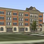 Construction begins on multimillion-dollar apartment complex