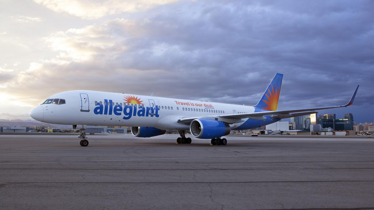 Allegiant Airlines Flying From Columbus To The Airport