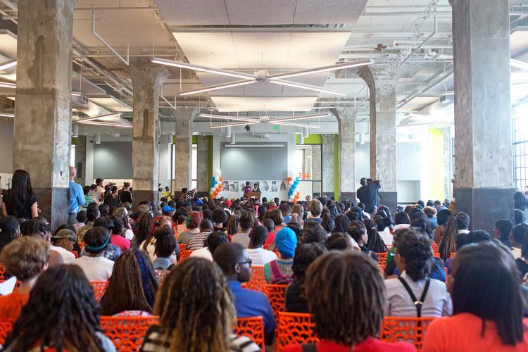 $27m baltimore design school opens its doors: take a look inside
