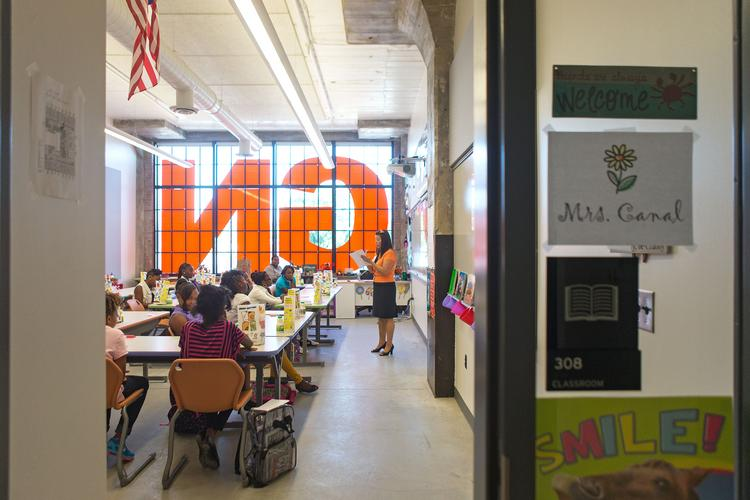 architecture review: baltimore design school oozes industrial one