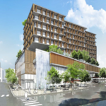 Committee advances sales tax bump for twin Plaza towers plan