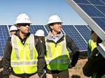 GWU students take in Duke Energy solar project