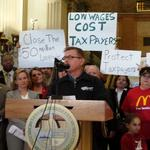 House Democrats take aim at corporations