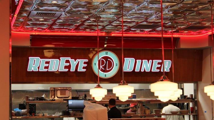 A K Inside The Redeye Diner In Uptown Charlotte