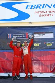 "Mike Levitas (pictured on right):   ""I couldn't be more excited to be racing in our home town,"" said Levitas, the owner of TPC Racing in Jessup. Levitas, who won the 2006 Rolex 24 Hours of Daytona, will be racing the No. 36 Porsche in the IMSA GTC3 Cup Challenge races. His teammates are Merkle's Williams and Ben Keating, of Houston, Texas, who will drive the No. 35 Porsche. ""We'll see if we can't put the 35, 36 and 37 on the leader list,"" Levitas said."