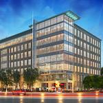Big tenant signs for 500 East Morehead