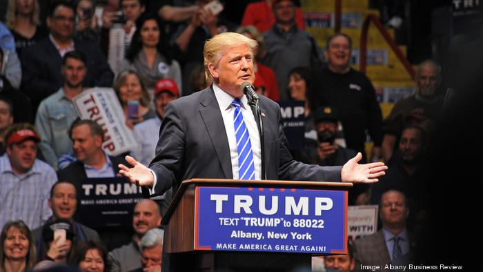 These Maryland cities gave the most money to Donald Trump's campaign in 2016