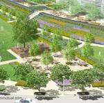 Office of James Burnett to handle landscape architecture around arena