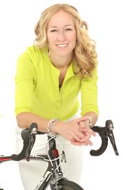 2013 PSBJ 40 under 40 honoree Anne Marie Kessler, Founder, Chief Operating Officer, of Paracle Advisors.  Kessler is an avid cyclist and she rides a TREK Madone carbon fiber bike.