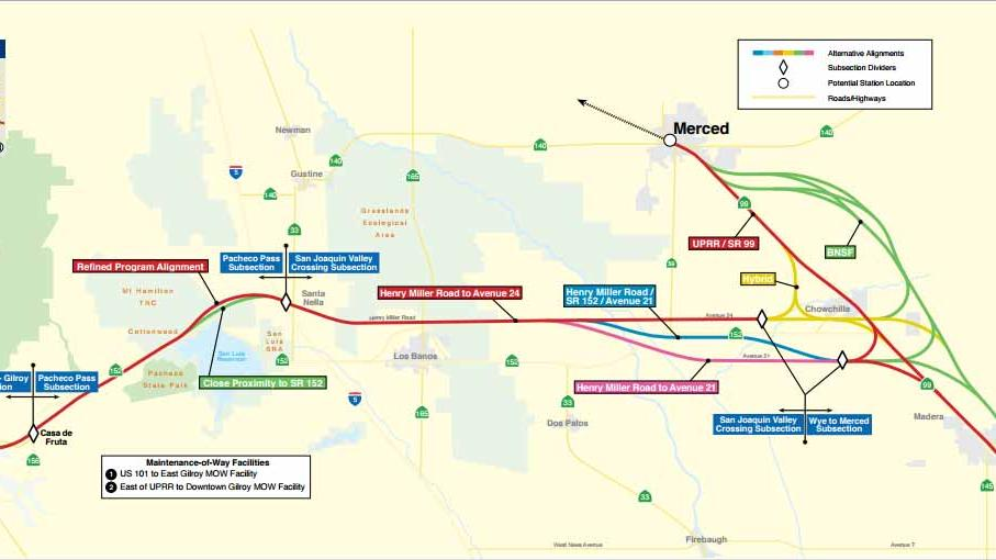 High Speed Rail Authority Plans To Add Merced Bakersfield To Its Initial Service Silicon Valley Business Journal