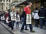 Bureau of Labor Statistics data shows organized labor on the ropes; some unions extend a hand to Trump