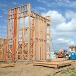 First houses finally starting to rise at McKinley Village