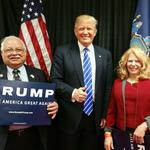 How this businessman got Donald Trump to hold a rally in Albany