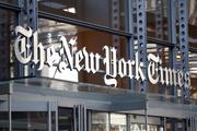 The New York Times Co. is among the companies expected to release earnings on Thursday.