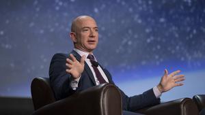 Mr. Bezos goes to Washington
