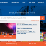 SEPTA spends $66K revamping branding campaign site