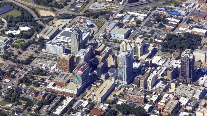 High-rise developer buys Hillsborough Street block in downtown Raleigh