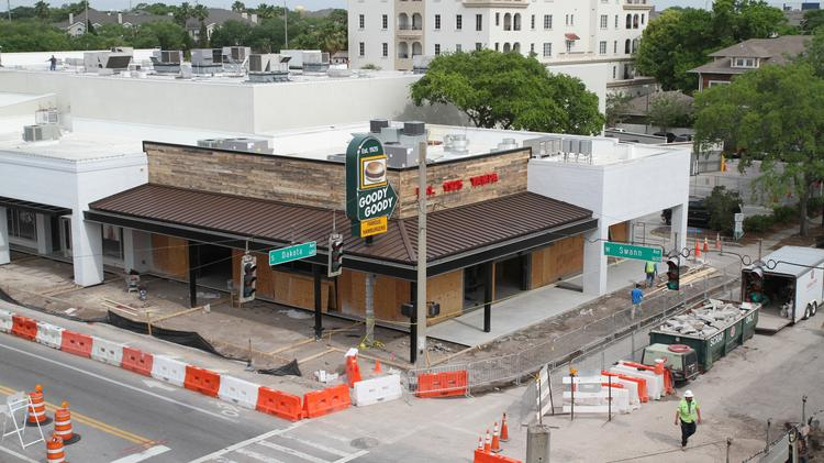 Goody Is Taking Shape In Hyde Park Village Click Through The Images For A